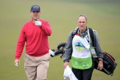 Jim Harbaugh Enjoys a Relaxing Round of Golf
