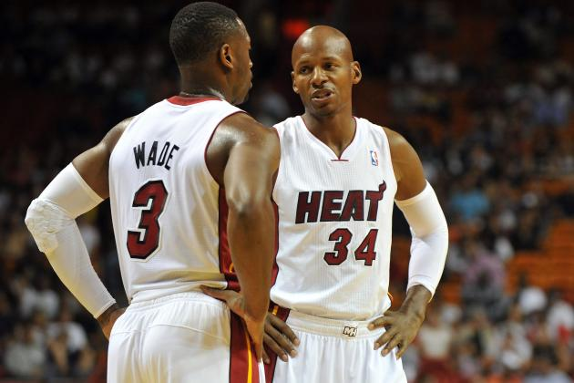 Heat Flu Bug Spreads to Dwyane Wade, Ray Allen