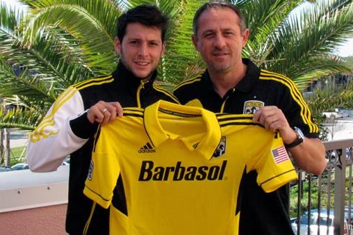 Crew Signs Midfielder Matías Sánchez