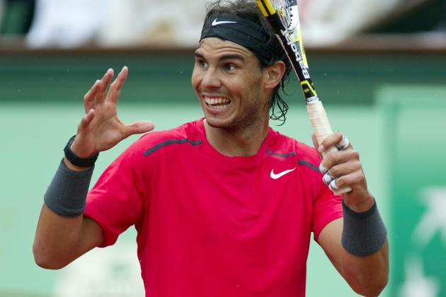 Rafael Nadal Is Happy with Knee Progress