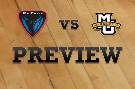 DePaul vs. Marquette: Full Game Preview
