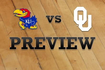 Kansas vs. Oklahoma: Full Game Preview