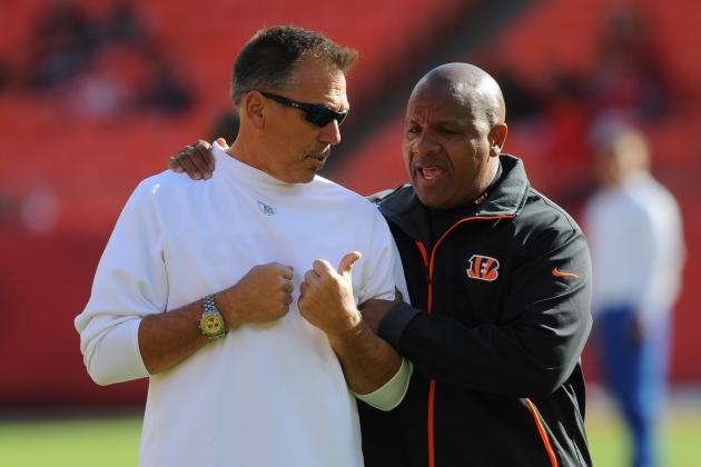 Bengals Assistant Hue Jackson Promoted