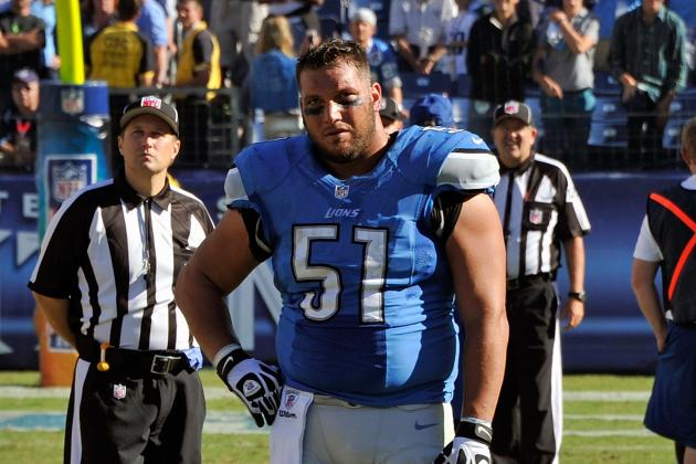 Dominic Raiola's Future with Detroit Lions in Question