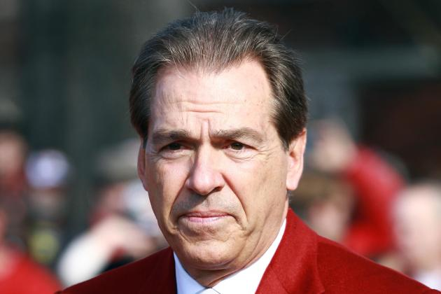 Alabama's Nick Saban Says Departing O-Line Coach Jeff Stoutland Will