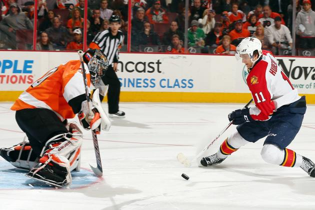 Flyers Fall to Panthers 3-2 in Shootout