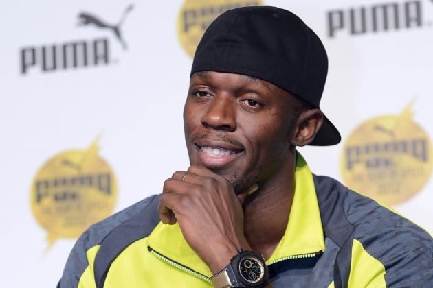 Usain Bolt Likes to Play/is Not Good at Playing Basketball