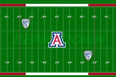 Arizona Wildcats Unveil New Turf Design for Football Stadium