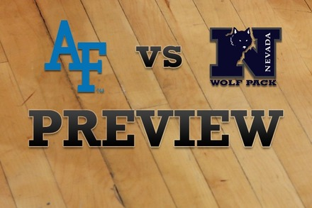 Air Force vs. Nevada: Full Game Preview