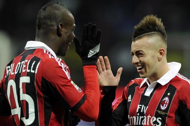Stephan El Shaarawy and Mario Balotelli: The Dawn of a Great Duo at AC Milan