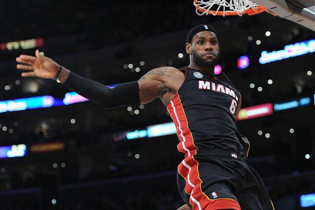 LeBron James Tweet Sparks Dunk Contest Speculation