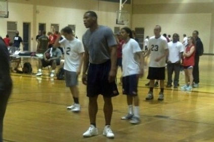 Cam Newton, Heisman Winner and NFL QB, Playing Intramural Basketball at Auburn