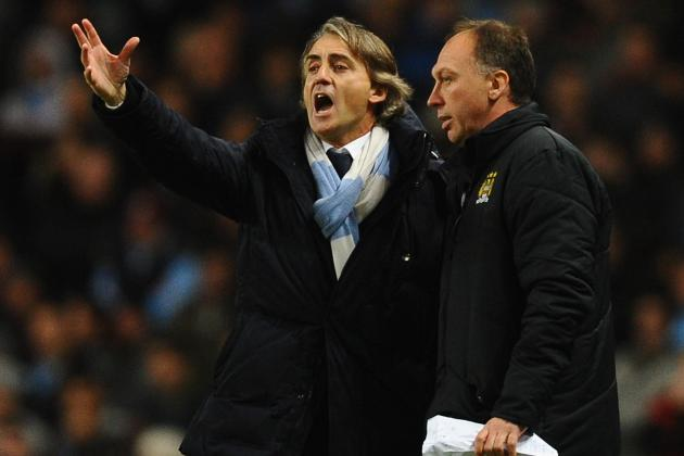 Mancini Believes Catching Man United Will Be 'Easy'
