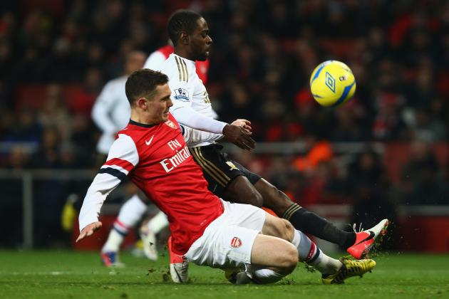 Arsenal Injury Crisis Deepens with Thomas Vermaelen and Kieran Gibbs out