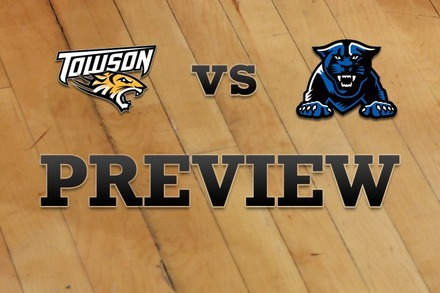 Towson vs. Georgia State: Full Game Preview