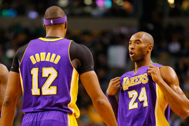 Is Kobe Bryant Pushing Right Buttons with Dwight Howard, or Just Being Pushy?
