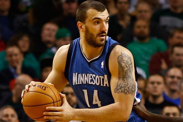 Nikola Pekovic Wants to Stay in Minnesota