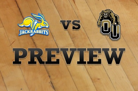 South Dakota State vs. Oakland: Full Game Preview