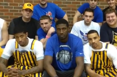 Three Indiana Pacers Play Dodgeball With Fans (VIDEO)