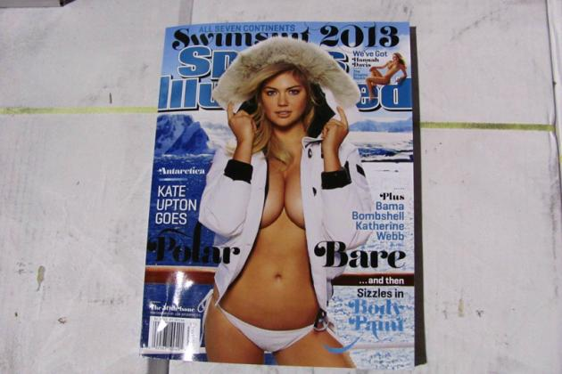 Kate Upton Nabs Second Sports Illustrated Swimsuit Cover According to Leaked Pic