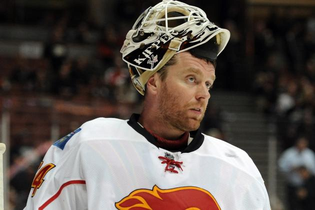 Flames Place Kiprusoff and Backlund on IR