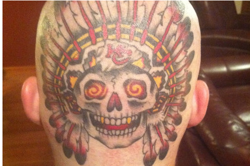 This Kansas City Chiefs Tattoo Isn't Creepy or Insane at All