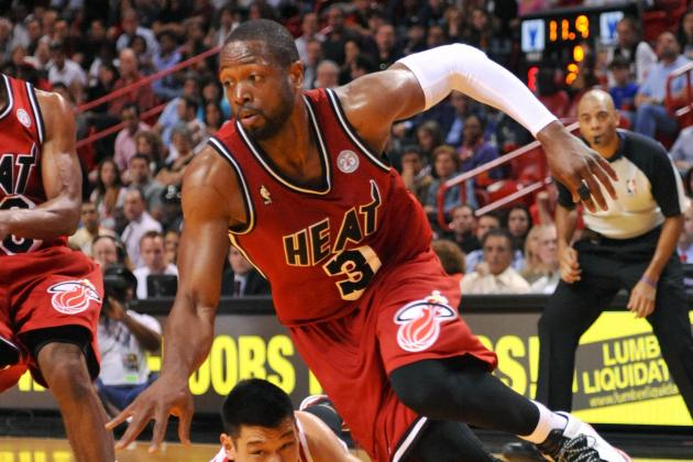 Dwyane Wade to Play Tonight; Bosh and Allen out