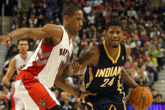 NBA Gamecast: Raptors vs. Pacers