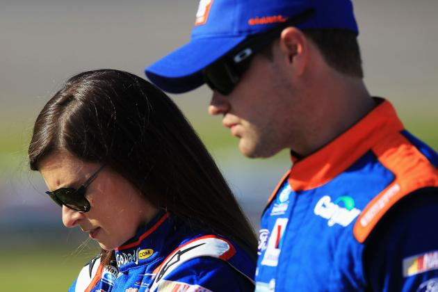 Why Danica Patrick, Ricky Stenhouse Jr. Rivalry Romance Is Great for NASCAR