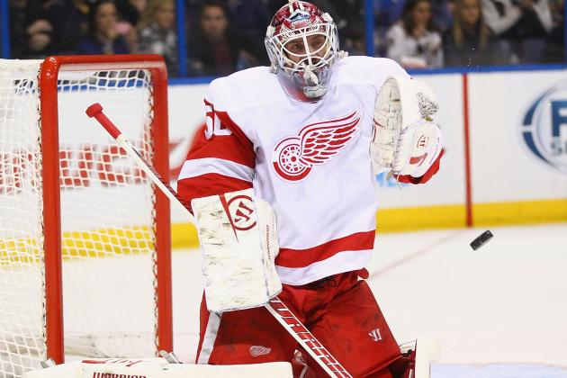 Wings Recall Andersson, Put Gustavsson on IR
