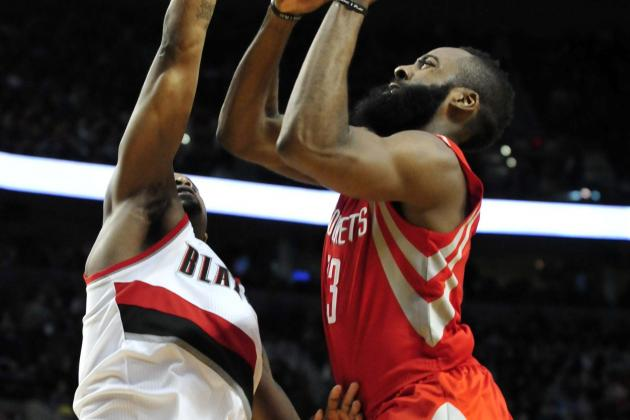 NBA Gamecast: Blazers vs. Rockets
