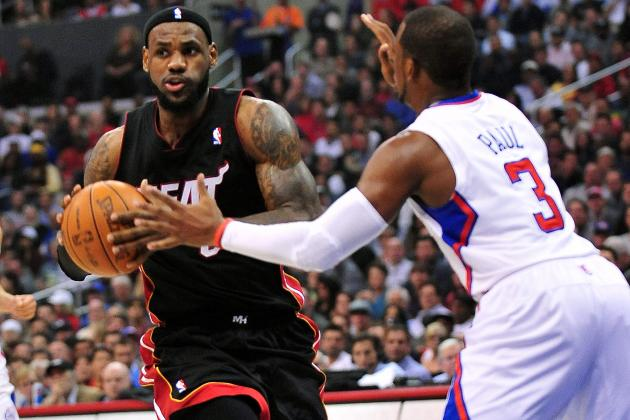 NBA Gamecast: Clippers vs. Heat