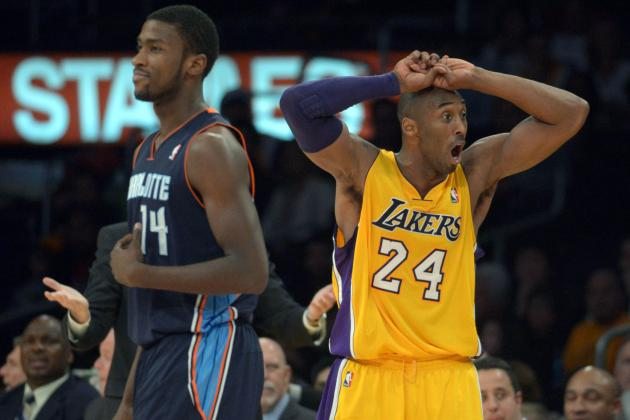 NBA Gamecast: Lakers vs. Bobcats