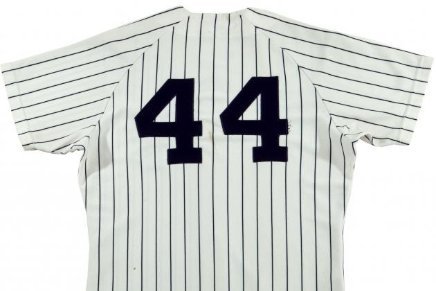 Reggie Jackson's 1977 World Series Jersey Set to Be Sold