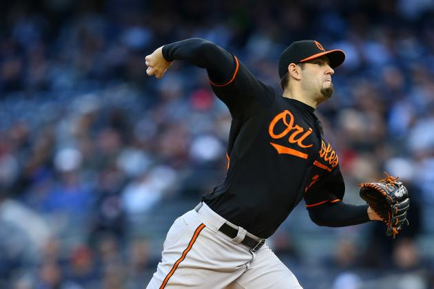 Jason Hammel and Orioles Agree on One-Year Deal to Avoid Arbitration