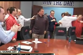 Did Ole Miss Stage NSD Reactions?