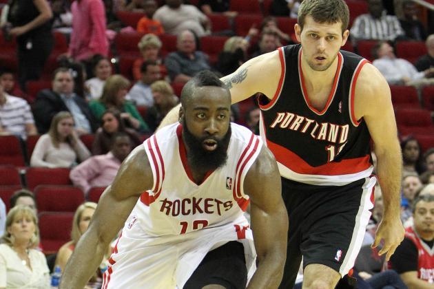 Harden Scores 35, Rockets Beat Blazers 118-103