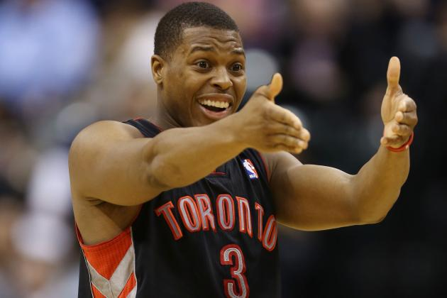 Raptors' Rudy Gay Hits Game-Winner in Overtime to Beat Pacers