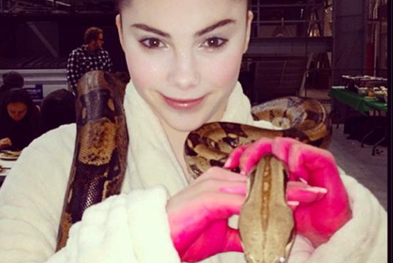 Instagram: McKayla Maroney's Freaky Snake