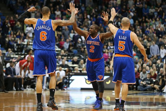 Anthony Engineers Knicks' Comeback Win over Timberwolves