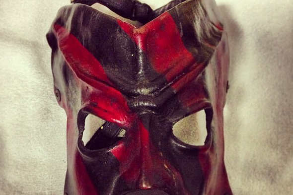 Instagram: Kane's '97 Undertaker Mask