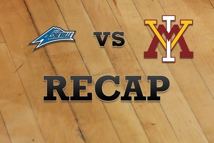 UNC Asheville vs. Virginia Military: Recap, Stats, and Box Score