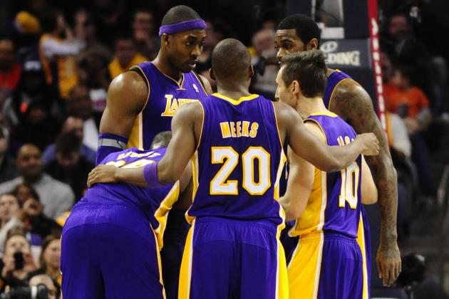 Lakers Come Back from Down 20 to Defeat Bobcats in Charlotte