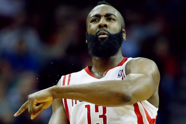 Harden's Stellar Play Amazes Even His Teammates