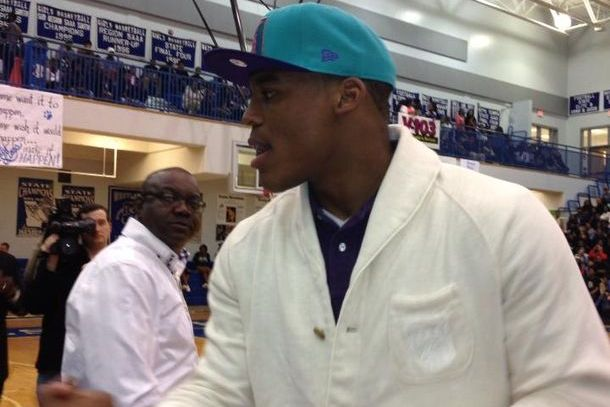 Cam Newton Returns to Westlake