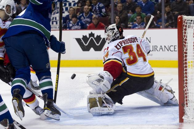 Calgary Flames Place Miikka Kiprusoff and Mikael Backlund on Injured Reserve