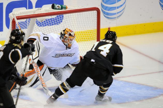 Stars Make It Three Straight Wins, Top Ducks 3-1
