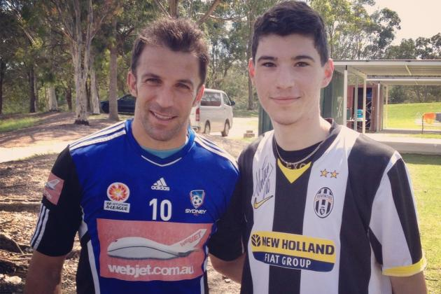 Catching Up with Alessandro Del Piero: A Session with the King