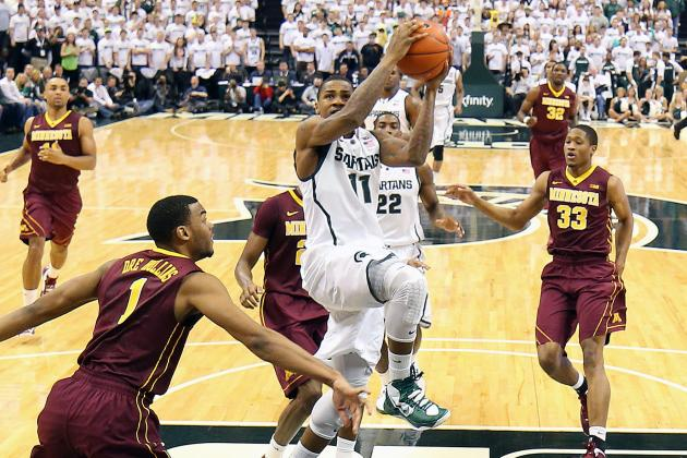Keith Appling: Michigan State built on toughness, will show it against Purdue