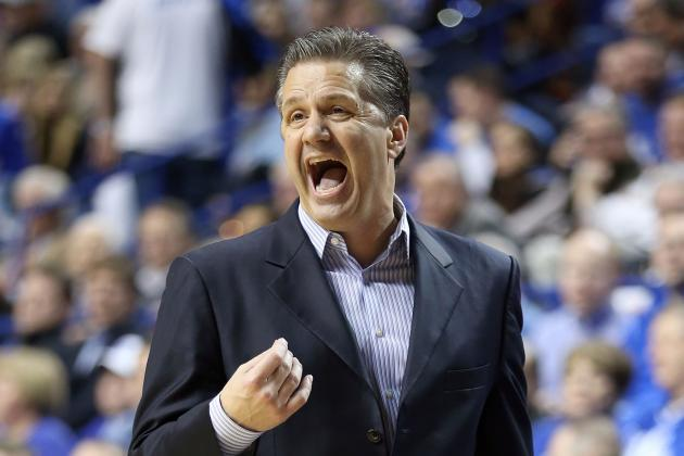 Calipari Teaching 'Life Lessons' as Cats Face Auburn